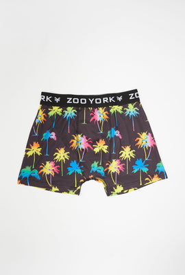 Zoo York Youth Neon Palm Trees Boxer Brief