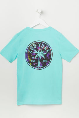 T-Shirt Logo Palmier Zoo York Junior
