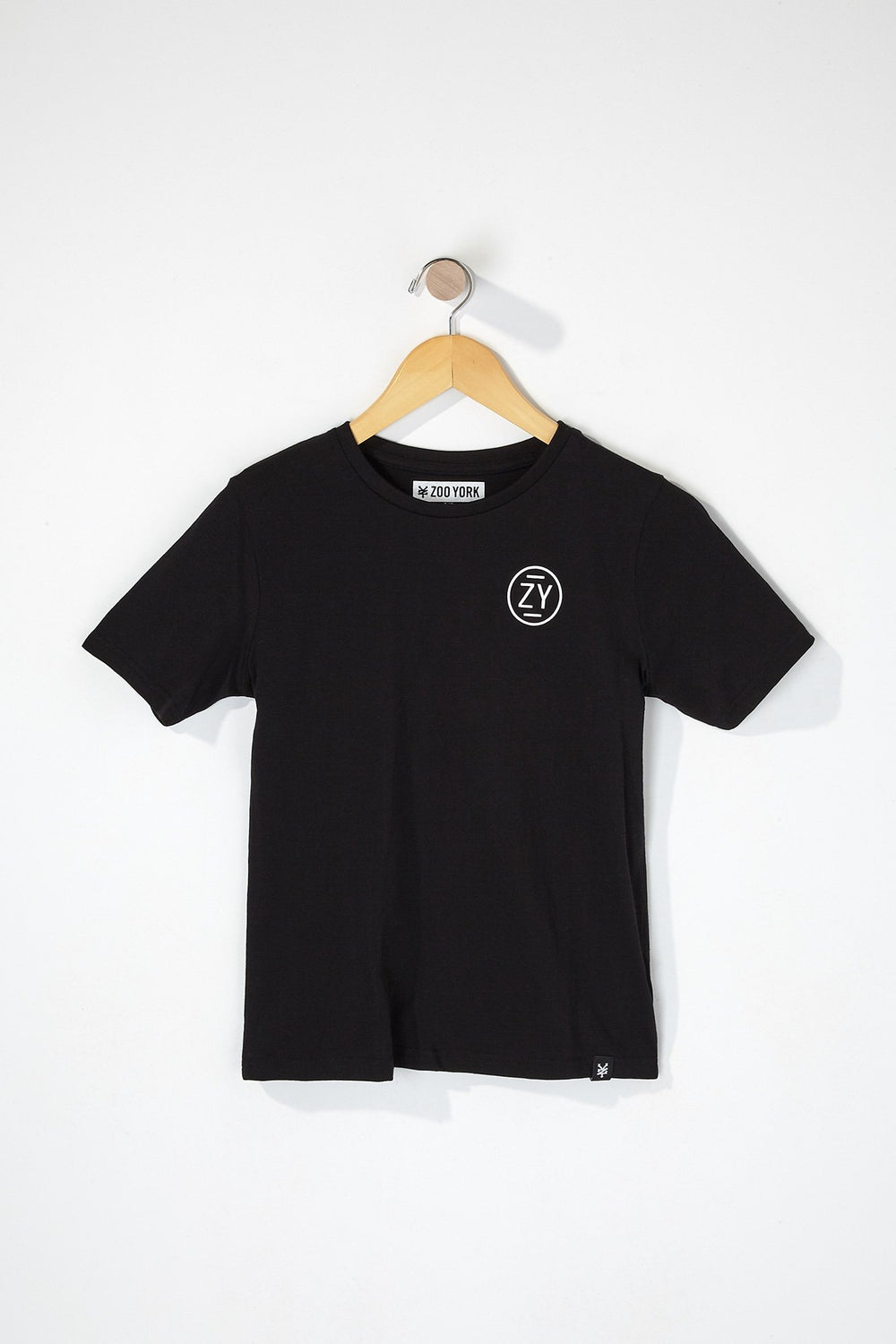 Zoo York Boys Circle Logo T-Shirt Black