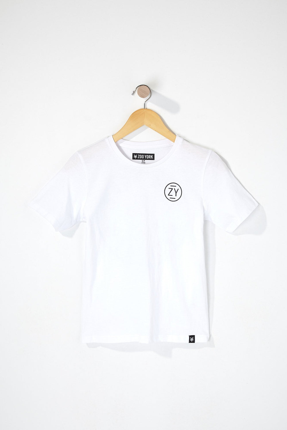 Zoo York Boys Circle Logo T-Shirt White