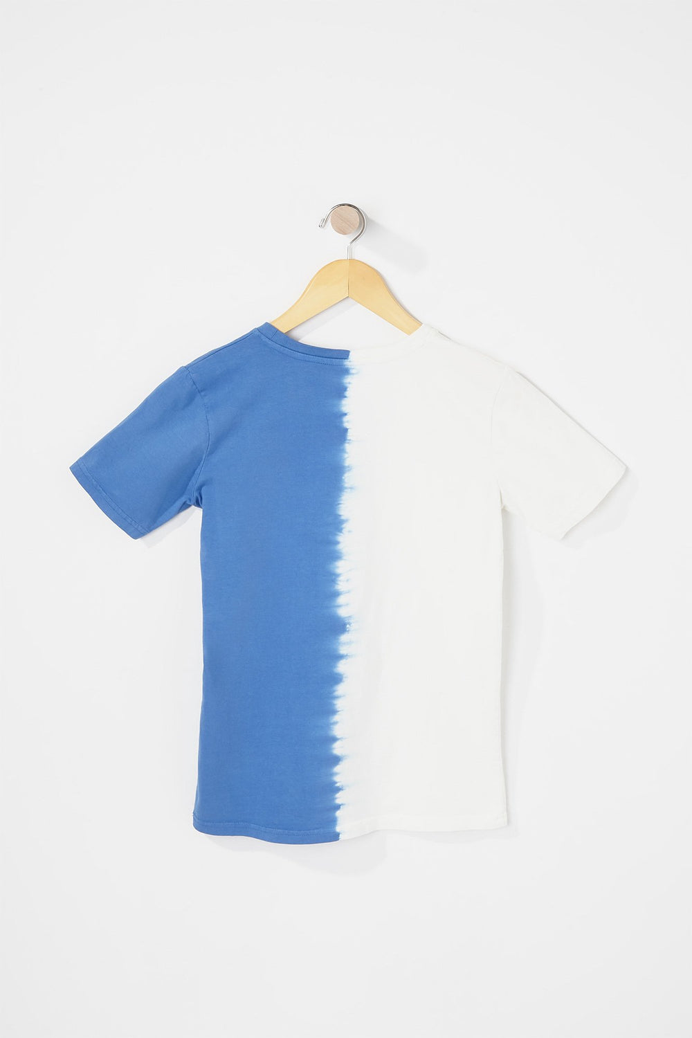 West49 Boys Box Logo Tie Dye T-Shirt Blue