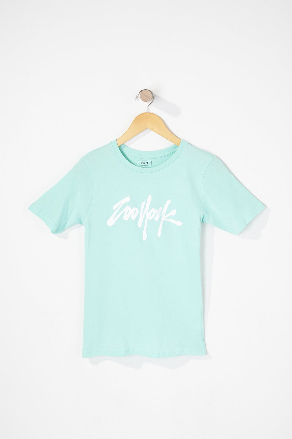 Zoo York Boys Graffiti Logo T-Shirt Blue