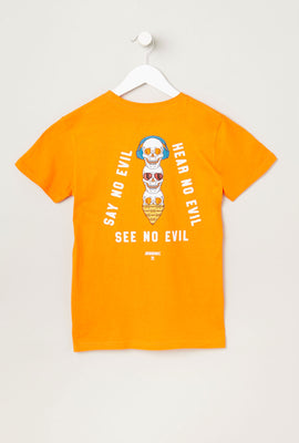 T-Shirt Imprimé No Evil Arsenic Junior