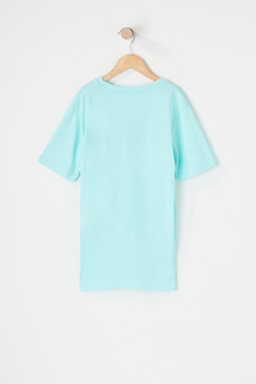 T-Shirt Zoo York Junior Turquoise