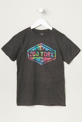 T-Shirt Junior Logo Zoo York Multicolore