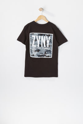 T-Shirt Logo Camouflage Zoo York Junior