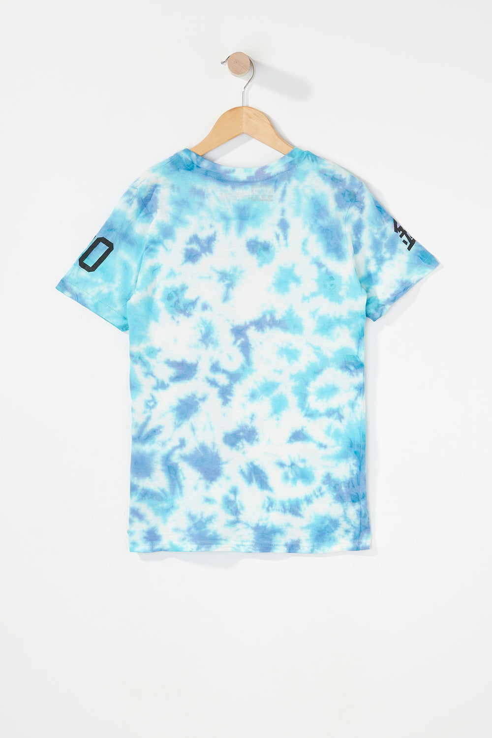 T-Shirt Tie-Dye Logo Young & Reckless Garçon Bleu