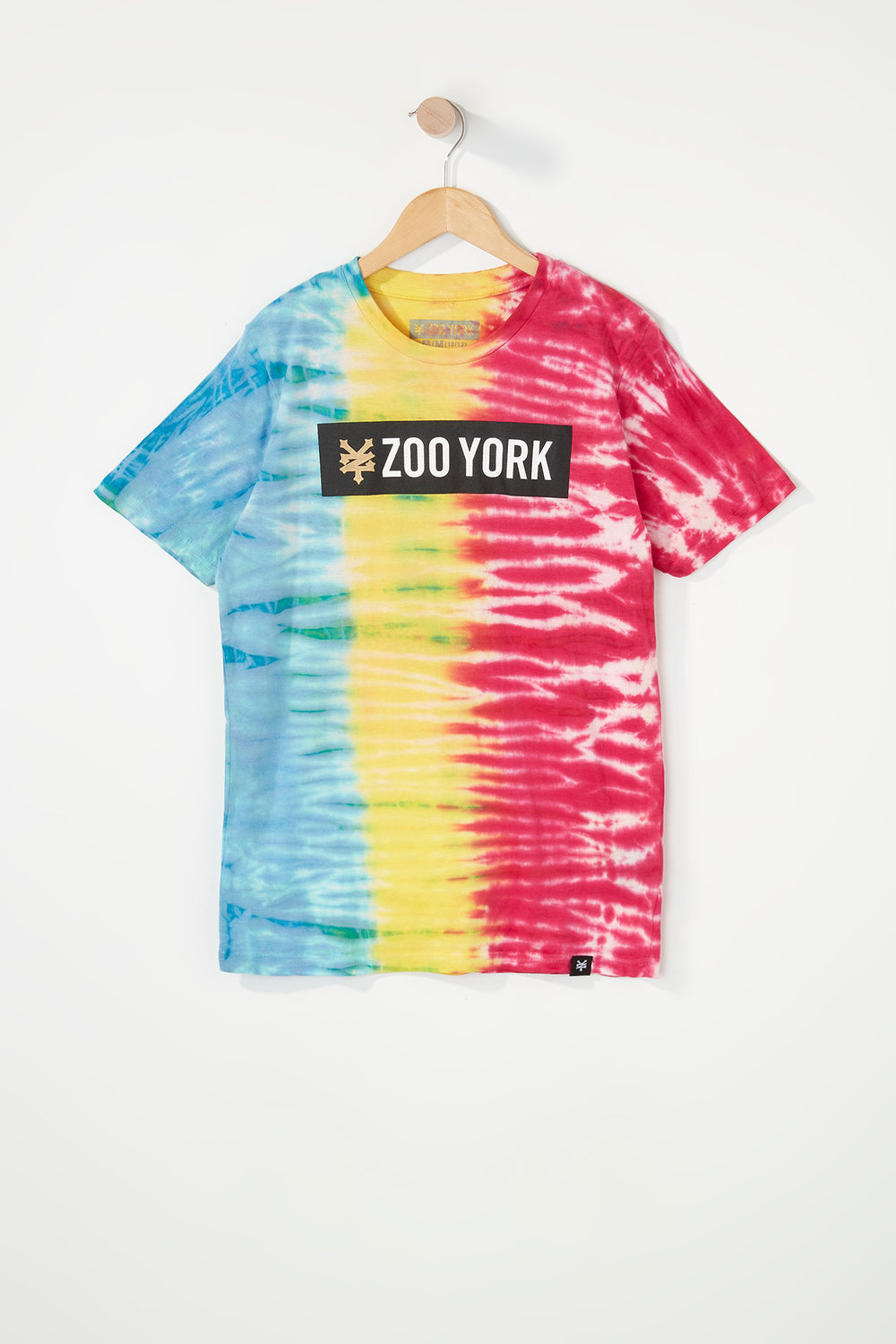 T-Shirt Tie Dye Zoo York Garçon Multi