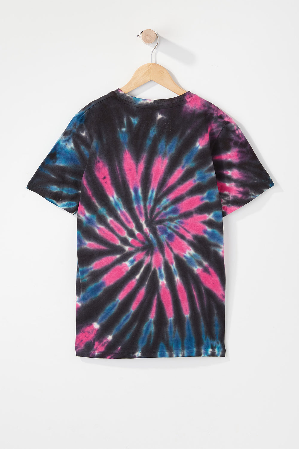 Young & Reckless Boys Tie-Dye T-Shirt Black