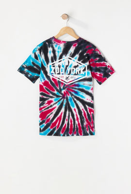 Zoo York Youth Skyline Logo Tie-Dye T-Shirt