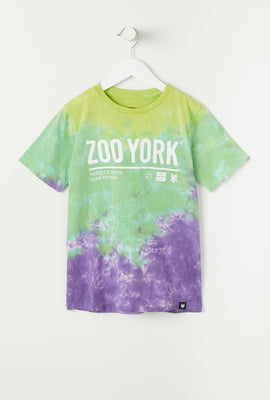 T-Shirt Tie-Dye Practice Truth Zoo York Junior