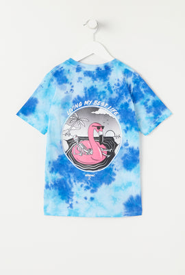 T-Shirt Tie-Dye Imprimé Arsenic Junior