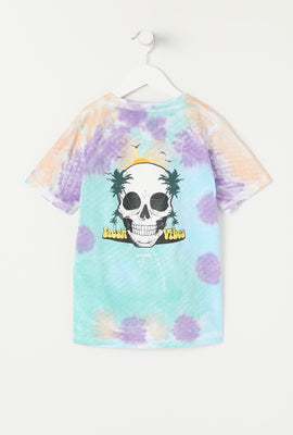 Arsenic Youth Graphic Tie-Dye T-Shirt