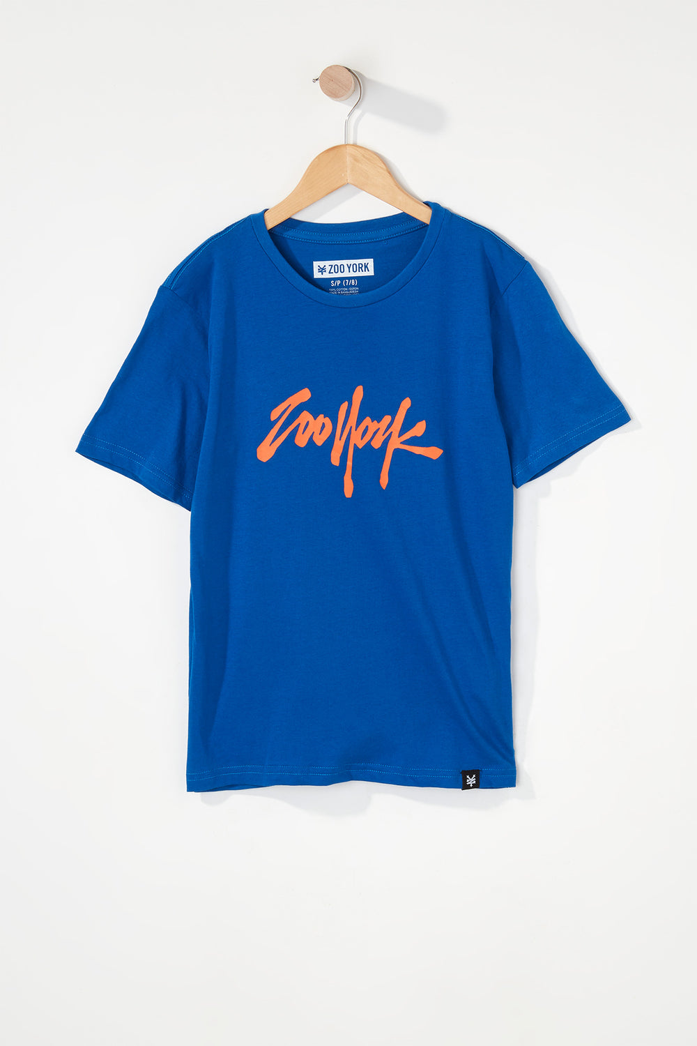 Zoo York Boys NYC 5 Boroughs T-Shirt Blue