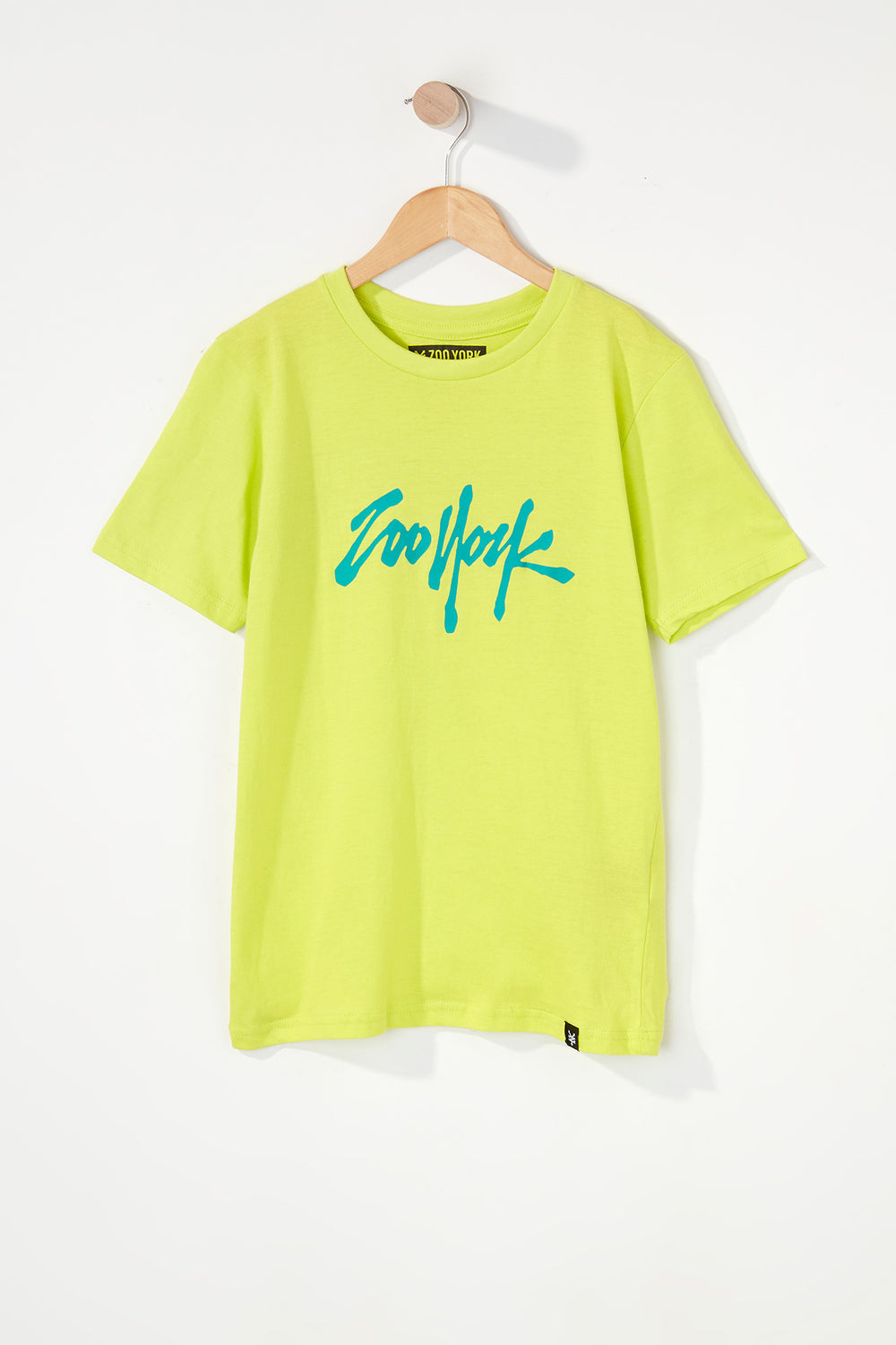 Zoo York Boys NYC 5 Boroughs T-Shirt Yellow