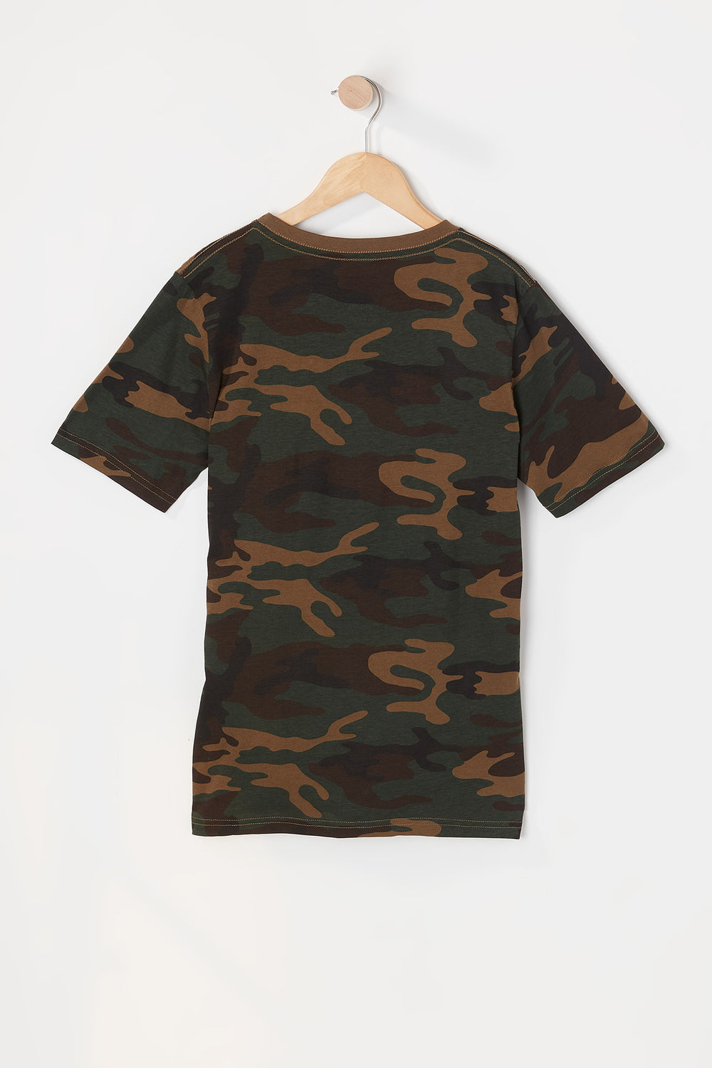 Zoo York Youth Camo T-Shirt Camouflage