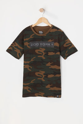 T-Shirt Camouflage Zoo York Youth