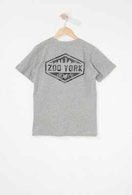 Zoo York Boys Camo Logo T-Shirt