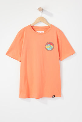 Zoo York Boys Palm Tree Logo T-Shirt