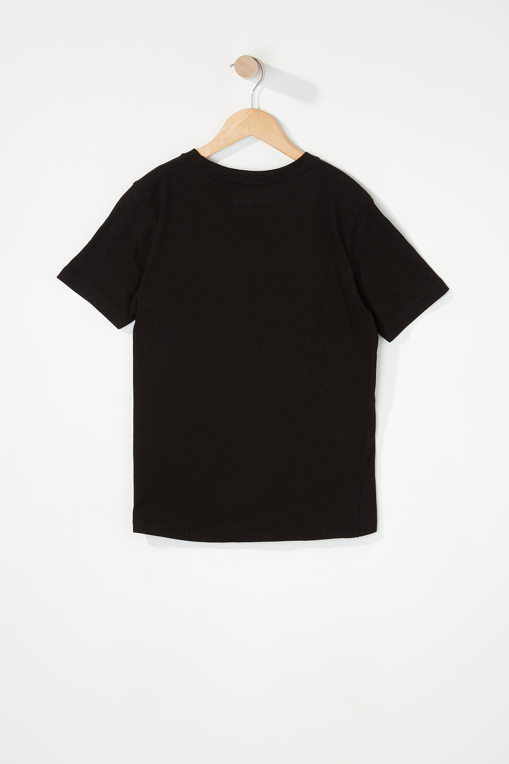Zoo York Boys Patch Logo T-Shirt Black