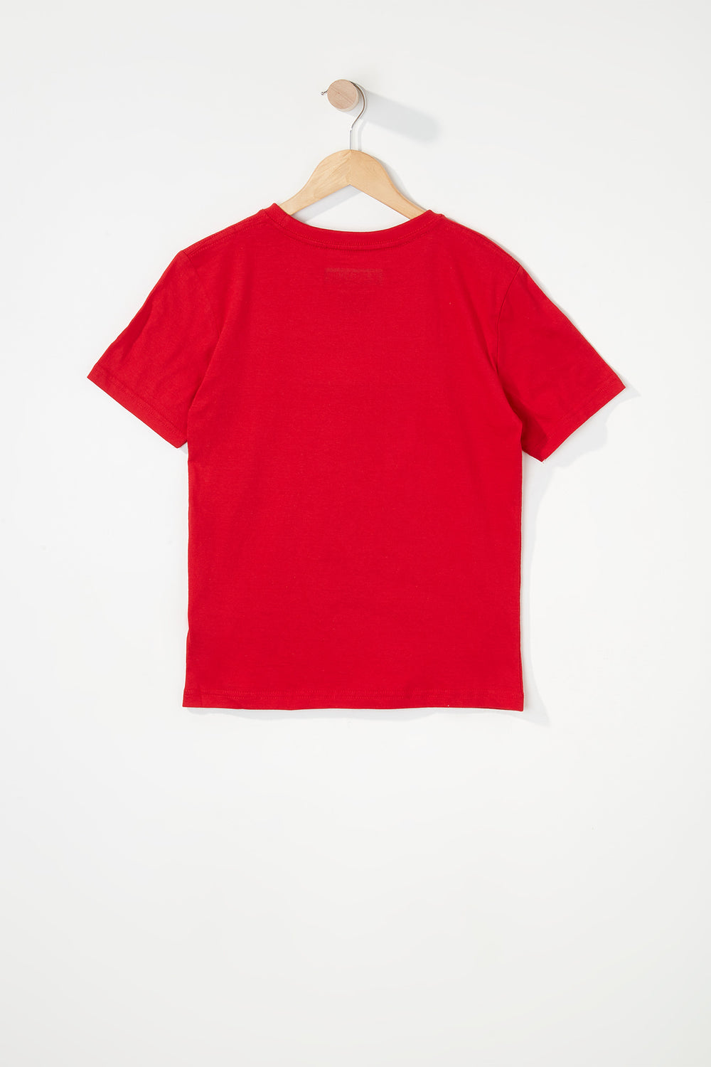 Zoo York Boys Patch Logo T-Shirt Red