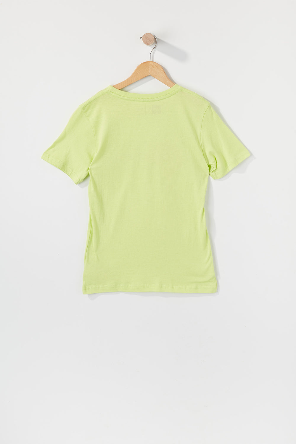 Young & Reckless Boys Gradient Logo T-Shirt Neon Green