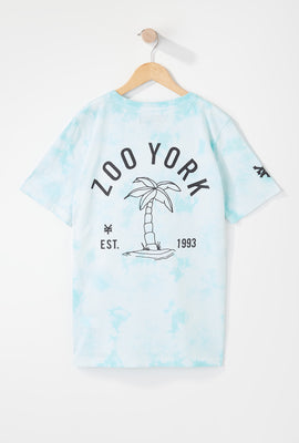 Zoo York Boys Palm Tree Tie-Dye T-Shirt