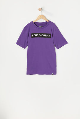 T-Shirt Logo Zoo York Junior