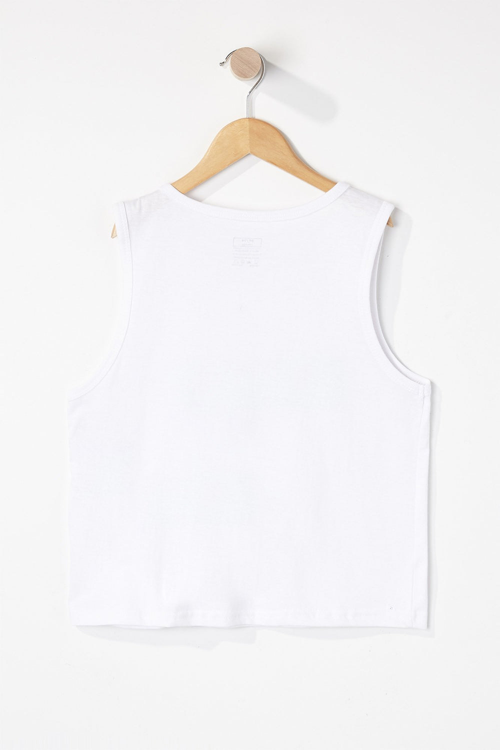 Zoo York Boys Flamingo Tank Top White