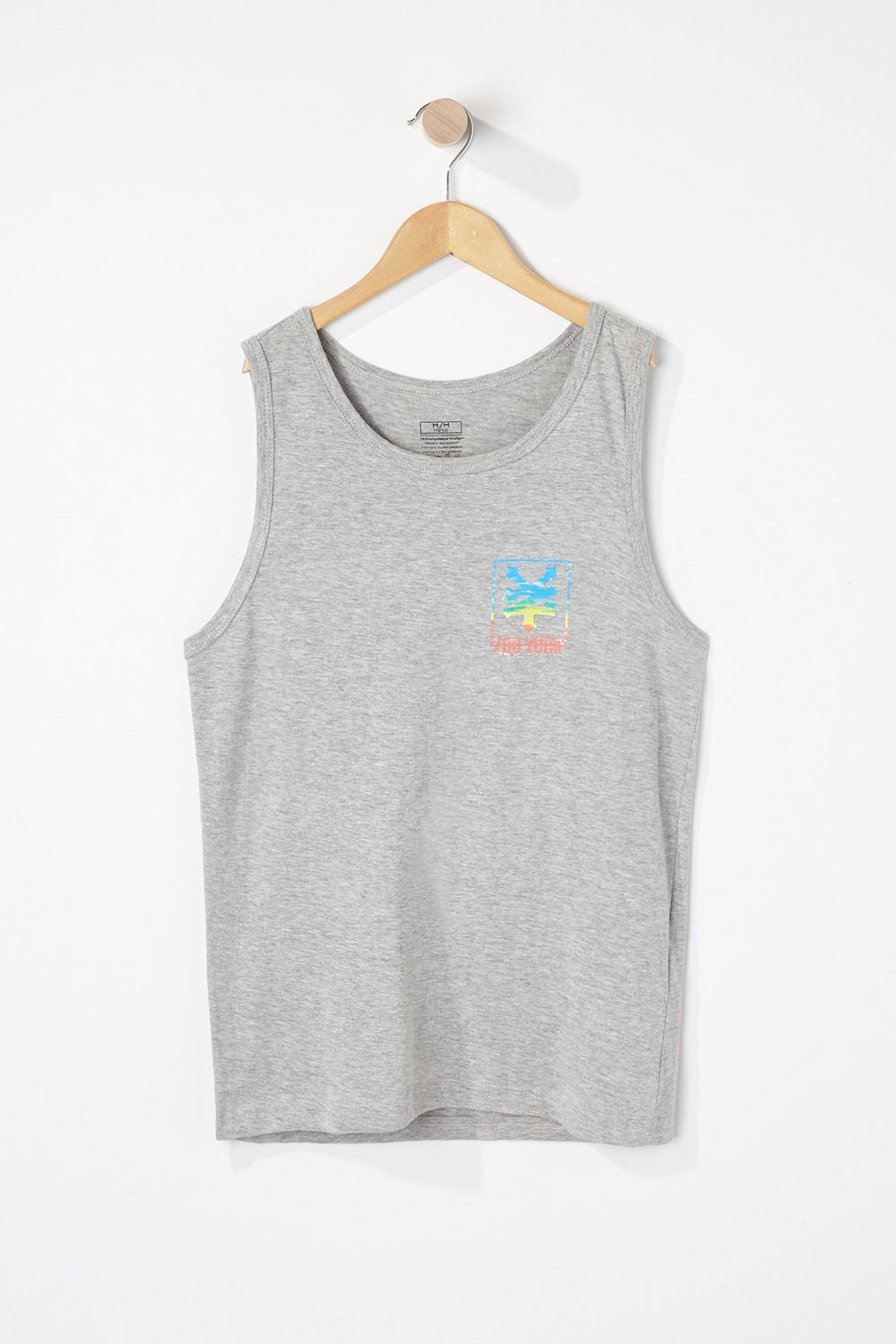Zoo York Boys Sunset Tank Top Heather Grey