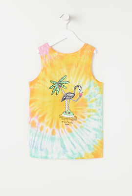 Camisole Tie-Dye Flamant Arsenic Junior