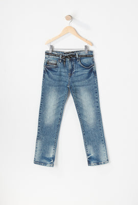 Jeans Filiformes Clairs Zoo York Junior