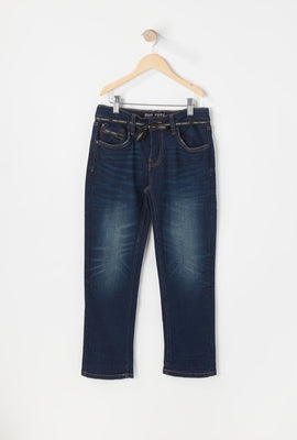 Zoo York Youth Slim Dark Blue Jeans
