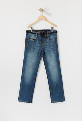 Zoo York Boys Stretch Slim Jeans