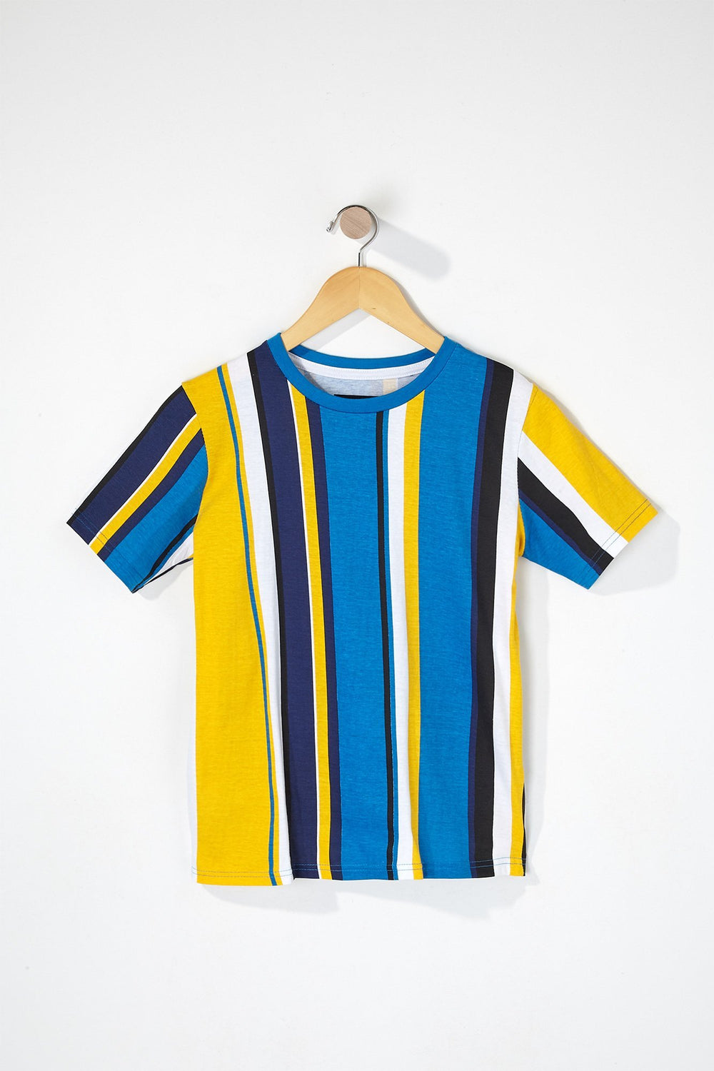 Zoo York Boys Striped T-Shirt Blue