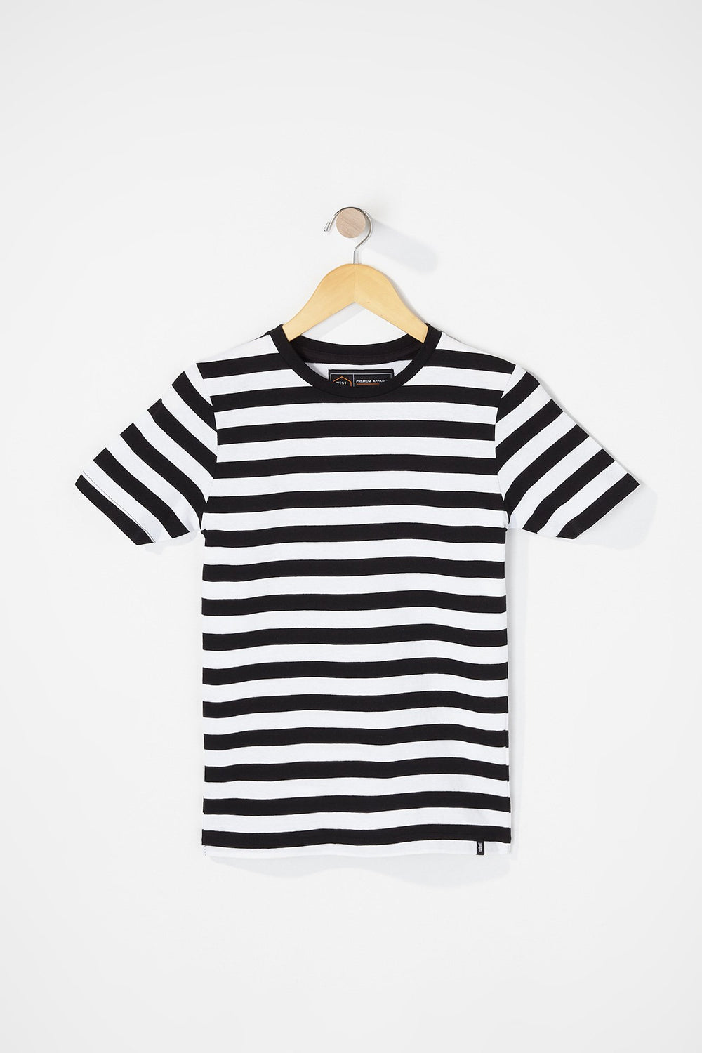 West49 Boys Striped T-Shirt White