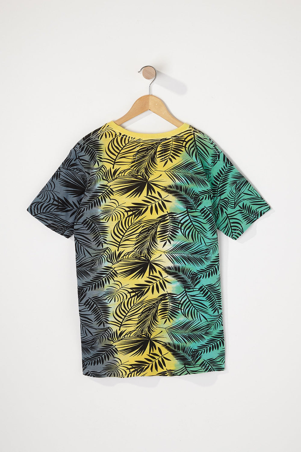 West49 Boys Tie-Dye Palm Tree T-Shirt Navy