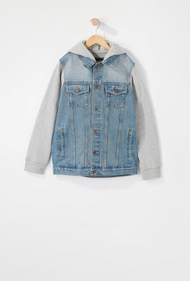 Manteau En Denim West49 Garçon