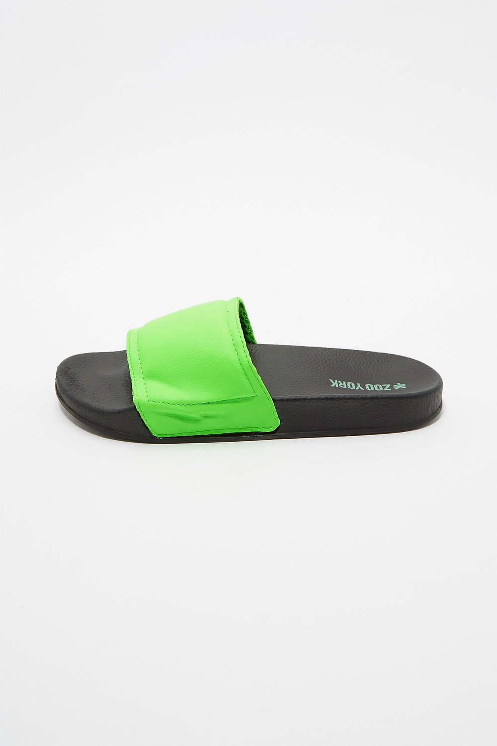 Zoo York Boys Slider Sandals Neon Green