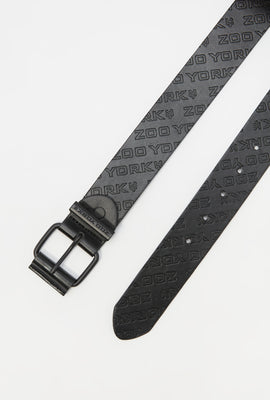 Zoo York Youth Faux Leather Belt