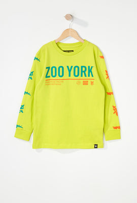 Zoo York Boys Practice Truth Long Sleeve Shirt