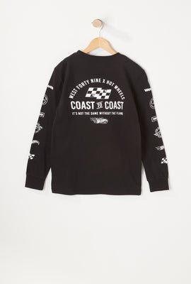 Hot Wheels X West49 Youth Long Sleeves