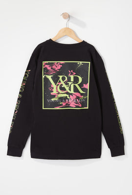 Young & Reckless Boys Electric Floral Long Sleeve