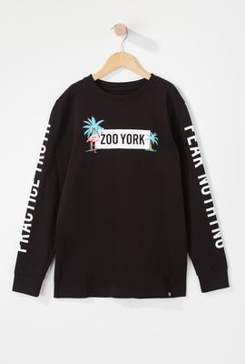 Zoo York Boys Flamingo Long Sleeve