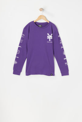 Zoo York Youth Various Logos Long Sleeve