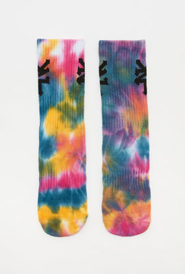 Zoo York Boys Tie-Dye Crew Socks