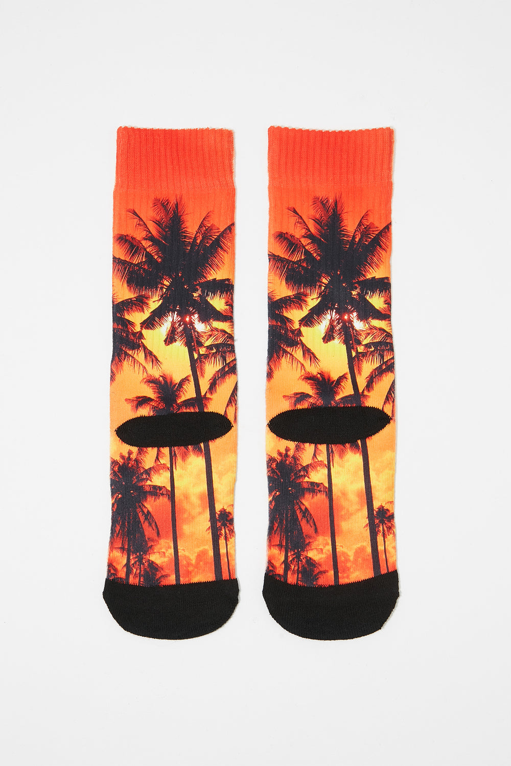 Zoo York Boys Rainbow Crew Socks Orange