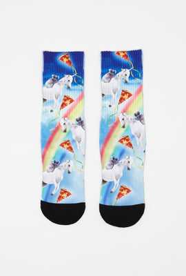 Zoo York Boys Sublimated Socks