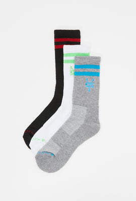 Zoo York Youth Varsity Crew Socks (3-Pack)