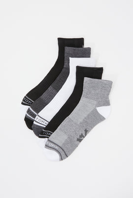 Zoo York Youth Athletic Ankle Socks 5-Pack